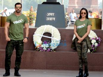 John Abraham & Sonakshi Sinha visit Amar Jawan Jyoti in Delhi to pay tribute to martyrs