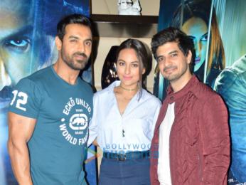 John Abraham, Sonakshi Sinha & Tahir Raj Bhasin promote their film 'Force 2'