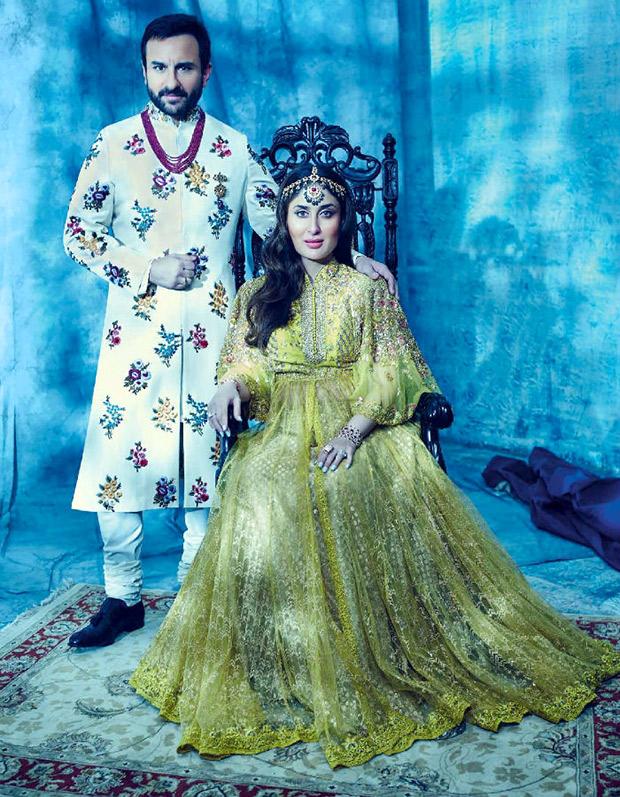 Check out: Kareena Kapoor Khan and Saif Ali Khan are royalty on Harper's Bazaar Bride