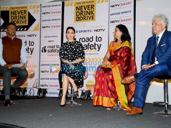 Karisma Kapoor graces the launch of Diageo's Road To Safety initiative