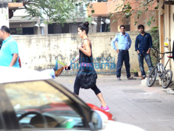 Katrina Kaif snapped post her gym session