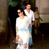 Malaika Arora Khan & Arbaaz Khan snapped outside the Family Court in Bandra