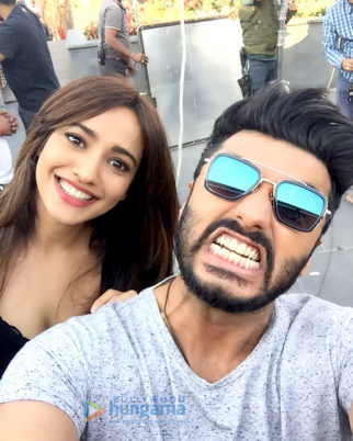 On The Sets Of The Film Mubarakan