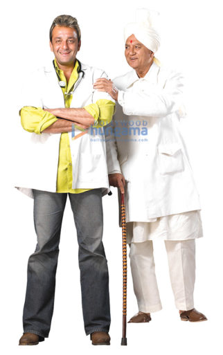 Movie Still From The Film Munnabhai MBBS