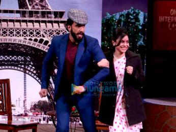 Promotion of 'Befikre' on the sets of The Kapil Sharma Show