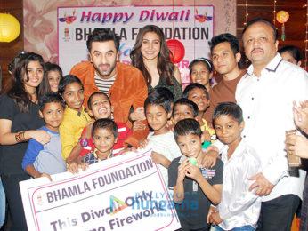 Ranbir Kapoor & Anushka Sharma grace Bhamla Foundation's Diwali celebrations with special kids