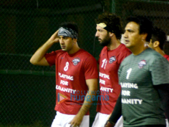 Ranbir Kapoor & others snapped at a charity football match