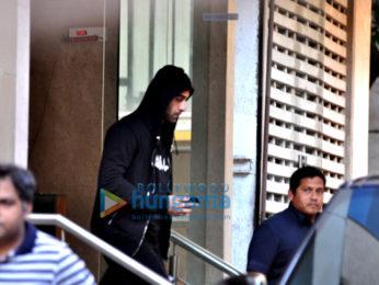 Ranbir Kapoor snapped post rehearsal for Ayan Mukerji's movie 'Dragon'