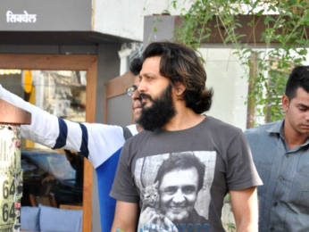 Riteish Deshmukh & Genelia Dsouza snapped post lunch at Sequel