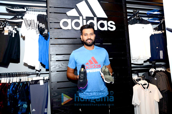 Rohit Sharma unveils new collection by 'Adidas'