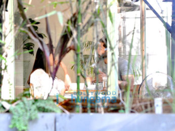 Shahid Kapoor & Mira Rajput snapped post lunch at The Kitchen Garden