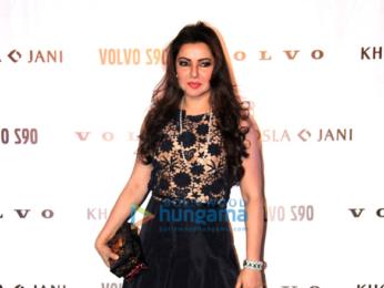 Shweta Nanda Bachchan walks for Abu Jani-Sandeep Khosla show for 'Volvo'