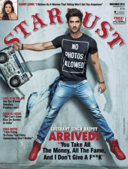 Sushant Singh Rajput On The Cover Of Stardust