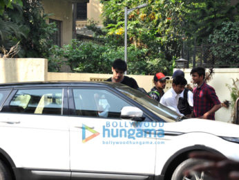 Sushant Singh Rajput snapped in Bandra