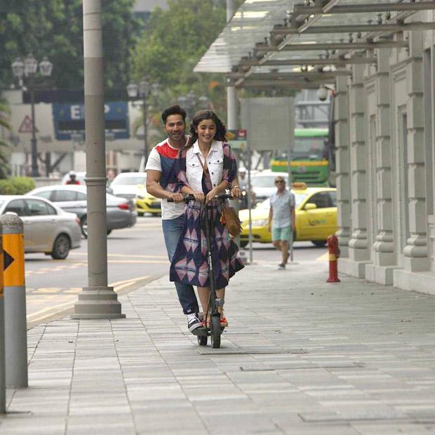 Check out: Varun Dhawan and Alia Bhatt romance in Singapore