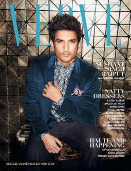 Sushant Singh Rajput On The Cover Of Verve