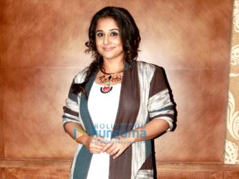 Vidya Balan snapped promoting her film Kahaani 2 in Mumbai