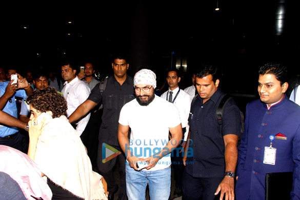 Aamir Khan, Jacqueline Fernandez and others snapped at the airport