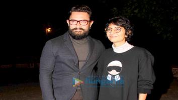 Aamir Khan & Kiran Rao snapped at their Panchgani farmhouse on their wedding anniversary