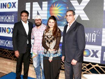 Aamir Khan graces Inox event