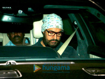 Aamir Khan snapped post 'Dangal' screening at Yashraj Studio
