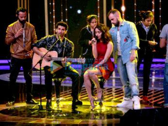 Aditya Roy Kapur & Shraddha Kapoor promote 'Ok Jaanu' on the sets of Dil Hai Hindustani