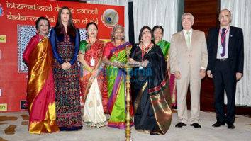 Aishwarya Rai Bachchan graces the 'International Dance Congress Meet' with her dance teacher Lata Surendra