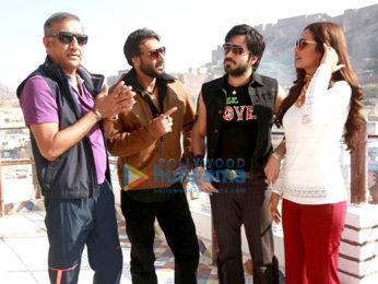 On The Sets Of The Movie Baadshaho