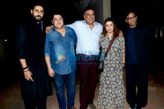 Boman Irani celebrates his birthday with Farah Khan, Abhishek Bachchan, Rajkumar Hirani and others