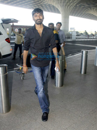 Dhanush, Kriti Sanon, Neha Dhupia and others snapped at the airport