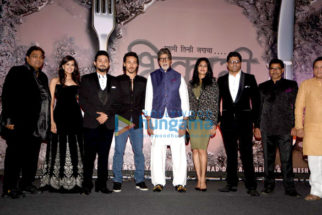 Amitabh Bachchan and Tiger Shroff at the launch of Ganesh Acharya's movie Bikhari