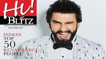 Ranveer Singh On The Cover Of Hi! Blitz