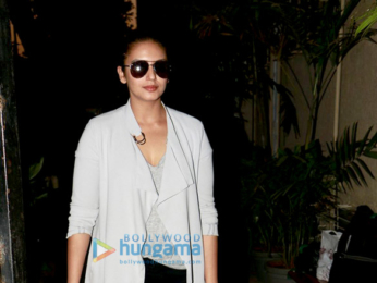 Huma Qureshi Snapped after a dubbing session in Versova