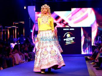 Kangna Ranaut walks the ramp for Manish Arora at the Blenders Pride Fashion Tour 2016