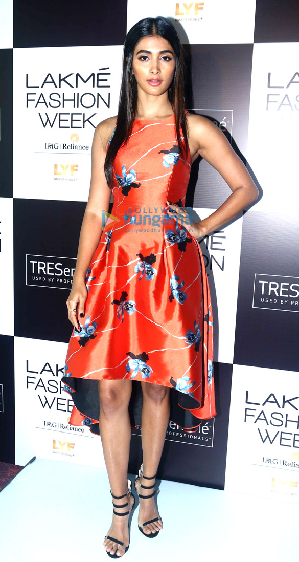 Pooja Hegde snapped at the model auditions for Lakme Fashion Week