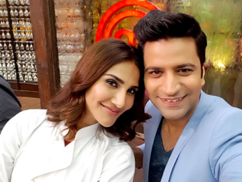 Ranveer Singh, Vaani Kapoor and Vidya Balan snapped on sets of Masterchef India