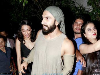 Ranveer Singh parties with close friends at Olive