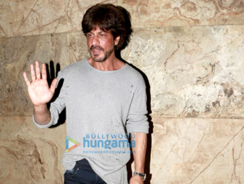 Shah Rukh Khan graces the Raees trailer preview for select media