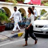 Saif Ali Khan snapped outside his house in Bandra