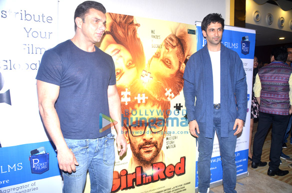 Sohail Khan graces the launch of the short film 'Girl In Red'