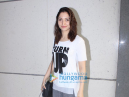 Tamannaah Bhatia snapped post rehersals of the Screen awards