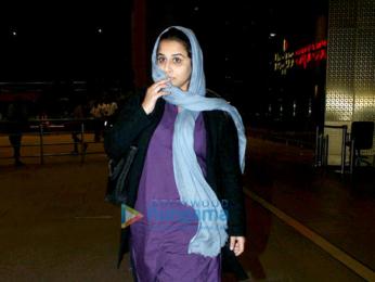 Vidya Balan snapped returning after promoting 'Kahaani 2' in Delhi