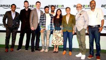Zoya Akhtar, Vikas Bahl & Reema Kagti at the launch of 'Amazon Prime Video'