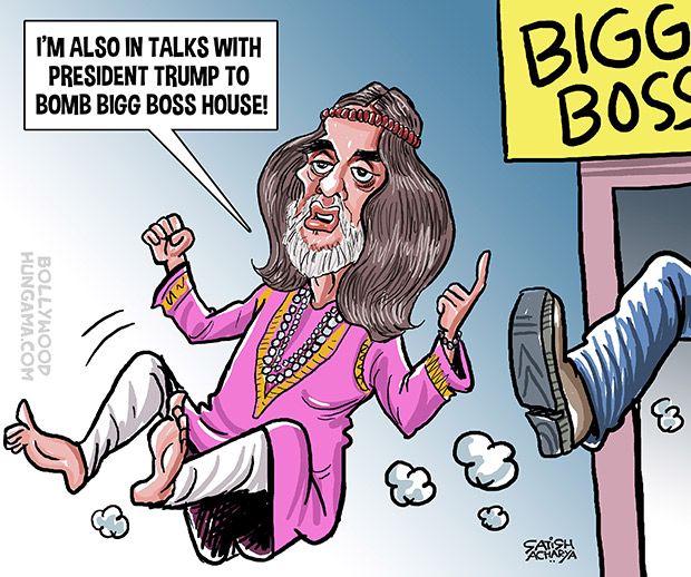 Bollywood Toons: Evicted Swami Om attacks Salman Khan!