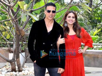 Akshay Kumar & Huma Qureshi snapped at the promotions of 'Jolly LLB 2'