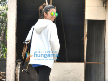 Alia Bhatt snapped in Bandra