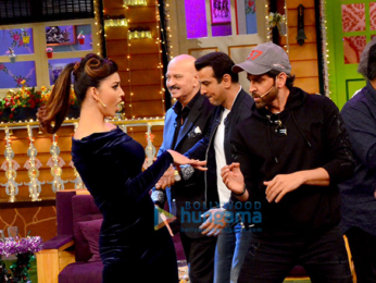 Cast of 'Kaabil' promote their film on The Kapil Sharma Show