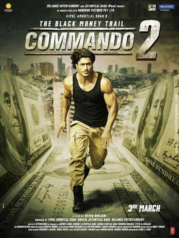 COMMANDO 2 (2017) con Vidyut Jamwal + Jukebox + Sub. Español + Online Commando-2-2