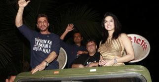Shah Rukh Khan's STYLISH Entry At Raees Success Party