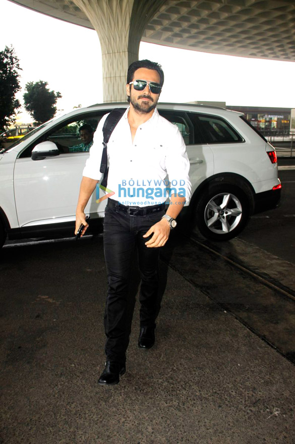 Emraan Hashmi, Vidyut Jammwal and other snapped at the airport